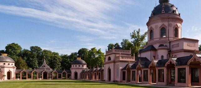 Schloss und Schlossgarten Schwetzingen, Moschee im Schlossgarten