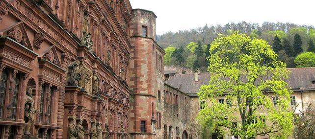 Schloss Heidelberg, Ottheinrichsbau; Foto: Staatliche Schlösser und Gärten Baden-Württemberg, Julia Haseloff