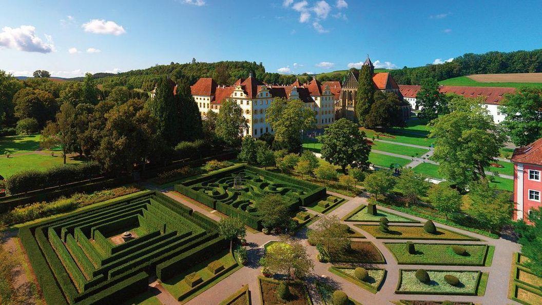 Kloster und Schloss Salem, Luftansicht