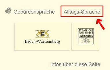 """Screenshot """"Alltagssprache"""""""