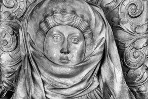 Grabmal Mechthilds in der Stiftskirche Tübingen