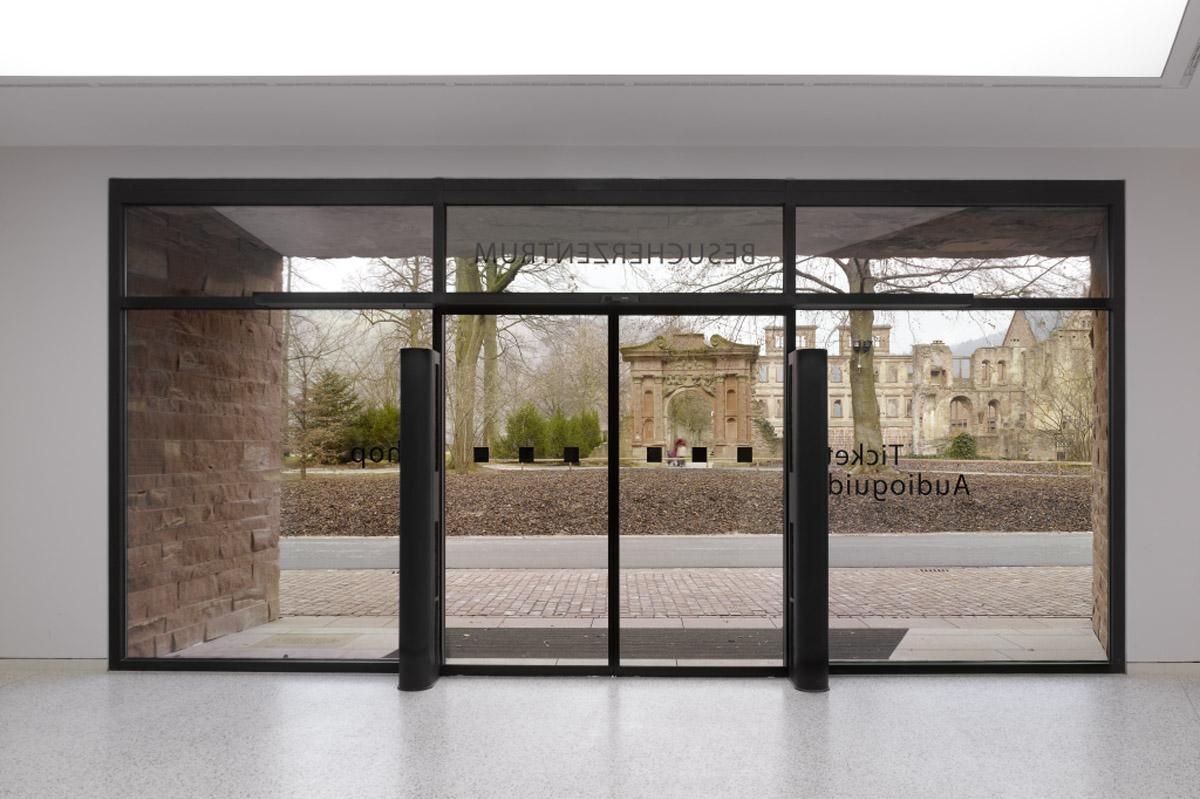 Le nouveau centre d'accueil des visiteurs au château de Heidelberg offre un panorama imprenable sur les ruines du château