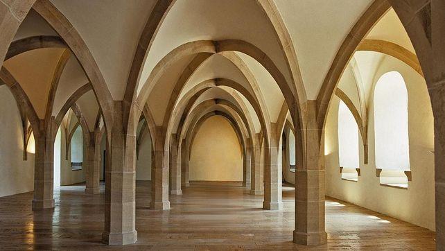 Residenzschloss Urach, Innenaufnahme, Dürnitz