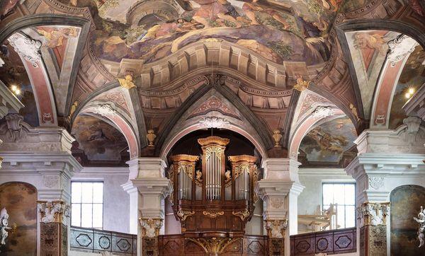 Residenzschloss Rastatt, Schlosskirche; Foto: Staatliche Schlösser und Gärten Baden-Württemberg, Günther Bayerl