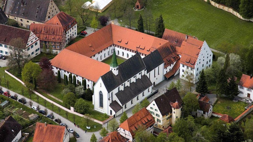 Kloster Heiligkreuztal, Luftansicht