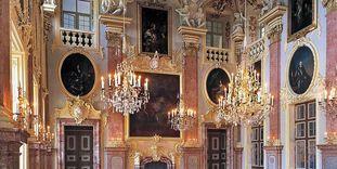 Der Ahnensaal in Residenzschloss Rastatt