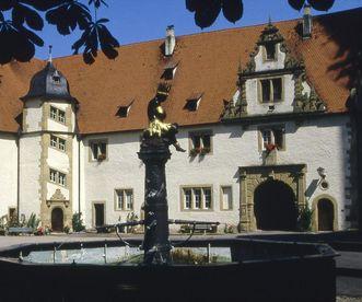 Old Abbey, Schöntal Monastery. Image: Foto Besserer