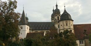 Außenansicht Kloster Schöntal