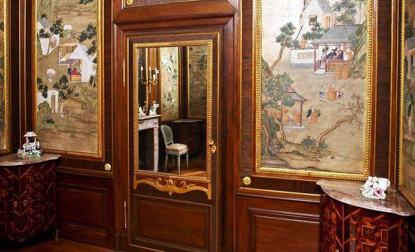 Schloss und Schlossgarten Schwetzingen, Teezimmer im Badhaus