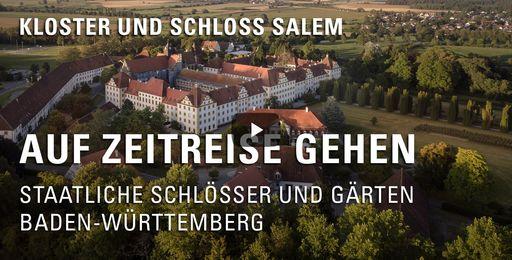 """Startbildschirm des Films """"Auf Zeitreise gehen: Kloster und Schloss Salem"""""""