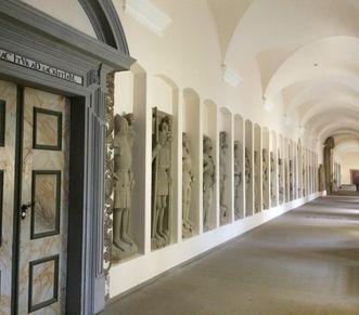 The cloister at Schöntal Monastery. Image: Staatsanzeiger für Baden-Württemberg, Anja Stangl